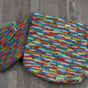 crocheted 150 bag tote