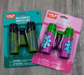 flower power and camo binoculars