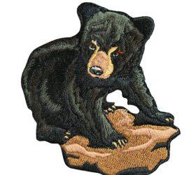 Black Bear ironon patch