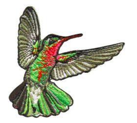 Hummingbird Ironon patch