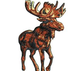 Moose Patch- Iron-on