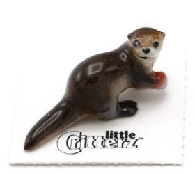 Rescue River Otter Porcelain Miniature